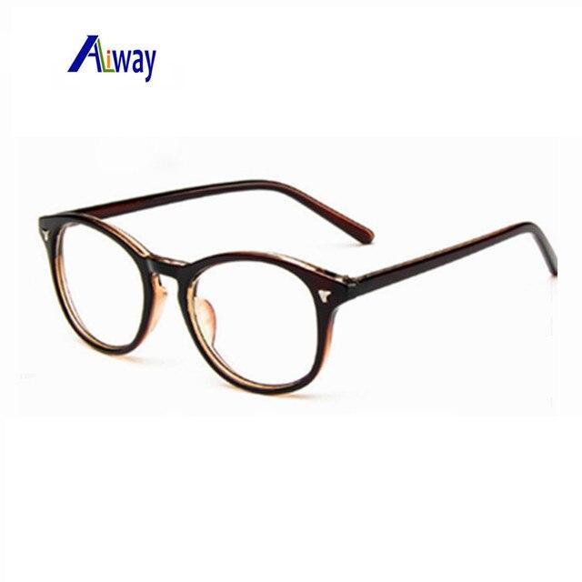a5b5ee8ff988f Aliway eyeglasses retro vintage optical reading spectacle eye glasses frame  men women brand design oculos de