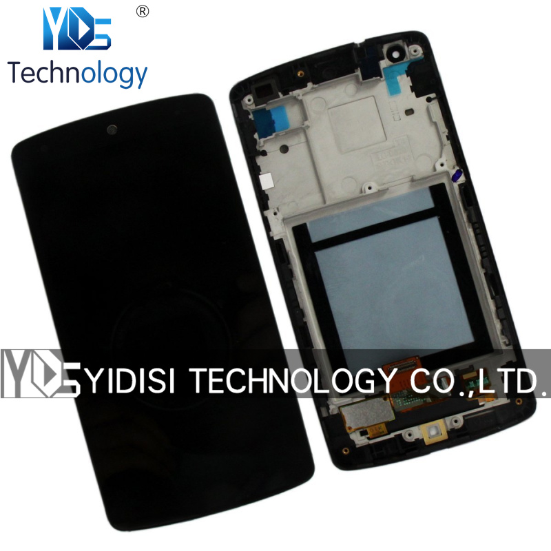 ФОТО 1PCS High Quality NEW LCD With Digitizer Assembly LG Google Nexus 5 D820 D821 LCD Display Touch Screen Replacement With Frame