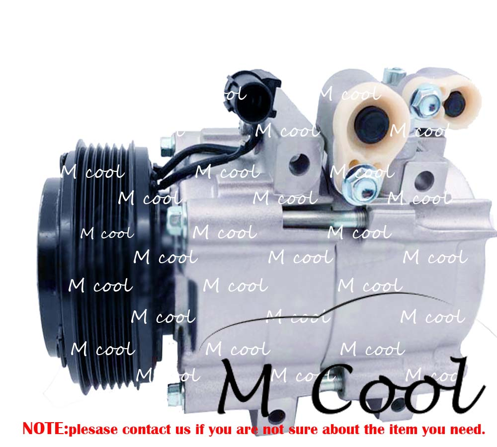 HS18 Auto A/C AC Aircon Air Conditioning Compressor For Hyundai H1 2.4 HCC HS18 Pulley Clutch Coil PV6 цена