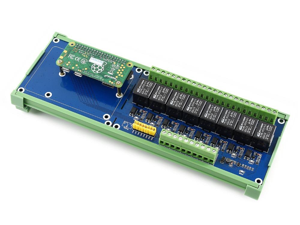 Raspberry Pi Expansion Board, 8-ch Relays .
