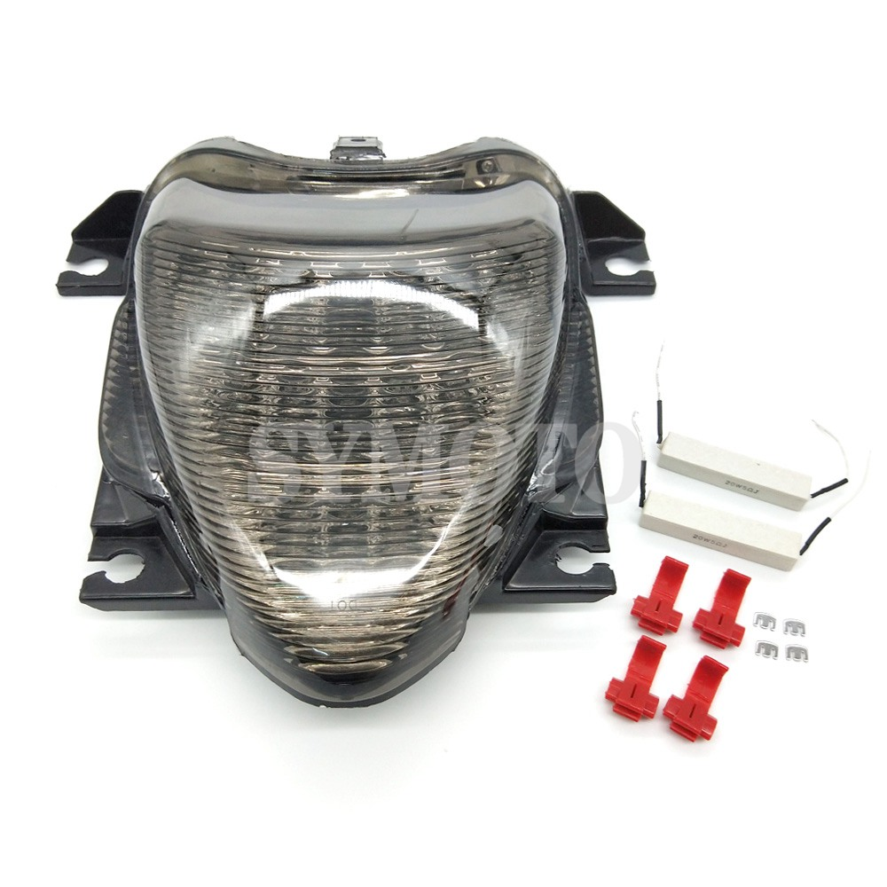 Motorcycle Tail light Tail Brake Turn Signals Integrated Led Turn Signals For Suzuki Boulevard M109R VZR1800 M1800R 2006-2010 aftermarket motorcycle parts led tail brake light turn signals for 2008 2012 hayabusa gsx1300r smoke