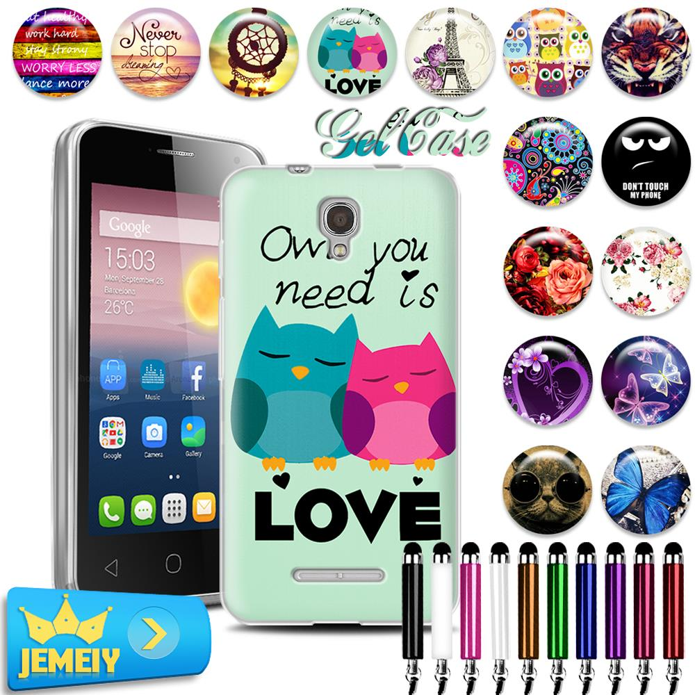 Alcatel One Touch Pixi 4 5010D 3G 5.0 1 4024 Printed TPU Case Wiko Lenny 3 BQ Strike BQS 5020 Etui Dont Phone - Shop323360 Store store