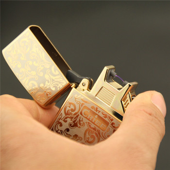 riches and honour flowers, arc pulse, pure copper USB rechargeable lighter, metal lighters