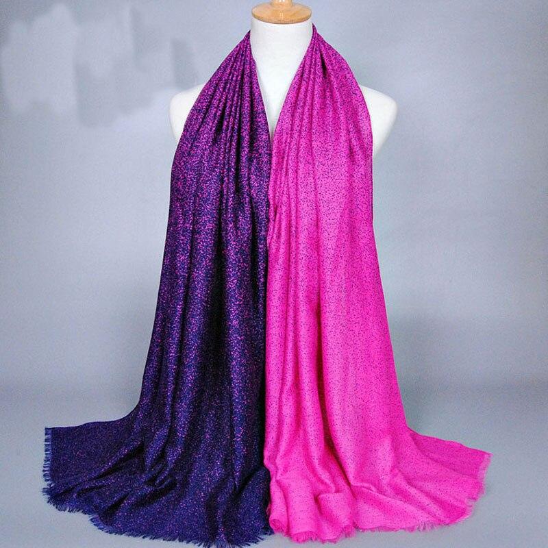 Lady Fashion Two Colors Little Leopard Point Bohemia Big Women Scarf Girls Cotton Silk Scarf Popular Female Scarves Wrap Shawl
