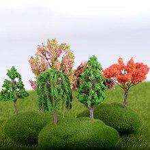 10 PCS Mini Tree Artificial Plants Branch Flowers Wedding Home Garden Decoration DIY micro-landscape succulent plants Decor