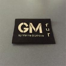 Etiquetas tejidas personalizadas que tejen etiquetas Jacquard para ropa/etiquetas personalizadas para prendas de vestir