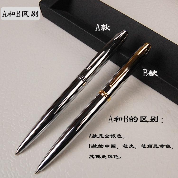 1pc Metal Ballpoint Pen Brass Oil Ball Pen Gift To Friend High Quality in Ballpoint Pens from Office School Supplies