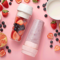 Xiaomi 17PIN Star Firut Cup Portable Juicer 400ML Fruit Cup Magnetic charging 30 Seconds Of Quick Juice Suitable For Fitness