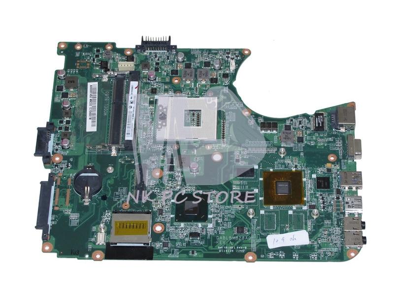 For Toshiba Satellite L750 L755 Laptop Motherboard A000081450 DABLBMB28A0 HM65 DDR3 GT520M Video Card nokotion sps v000198120 for toshiba satellite a500 a505 motherboard intel gm45 ddr2 6050a2323101 mb a01