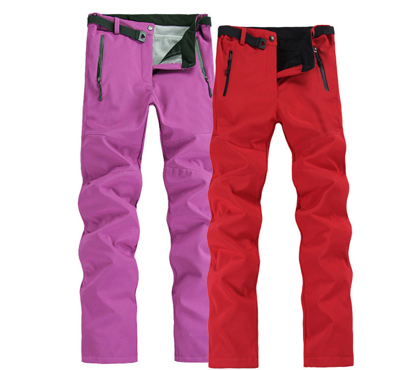 Outdoor Women Hiking Camping Pants Fleece Softshell Pant Trekking Trousers Riding Fishing Sports Pantalones Mujer Warm Winter men plus size 4xl 5xl 6xl 7xl 8xl 9xl winter pant sport fleece lined softshell warm outdoor climbing snow soft shell pant