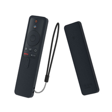 SIKAI ซิลิโคนป้องกันกรณีสำหรับ Mi กล่องรีโมทคอนโทรลผิวสำหรับ Xiao Mi Box S Smart TV Remote