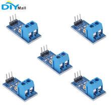 5 հատ / լարում Լարման հայտնաբերման ցուցիչի մոդուլի փորձարկման էլեկտրոնային աղյուսներ DC 0-25V Arduino- ի համար