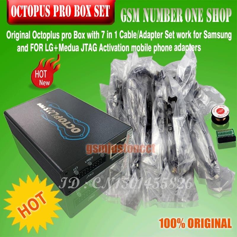 2019 nueva versión OCTOPUS PRO BOX/octoplus pro Box con 5 cables para Samsung o para LG y Medua JTAG activado