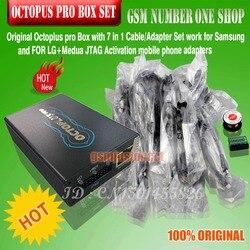 2019 nueva versión OCTOPUS PRO BOX/octoplus pro Box con 5 cables para Samsung o para LG y MEDA JTAG activados