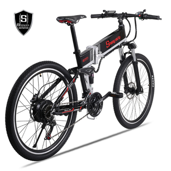 26 inch folding electric mountain bike bicycle booster 48V lithium battery off-road  ebike Electric bicycle