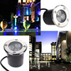 Free Shipping 3W LED Underground Light IP65 Buried Recessed Floor Outdoor Lamp DC12V 24V Or AC85