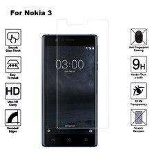 2 шт для Nokia 3 закаленное стекло 2.5D 9H TA-1020 TA-1032 защитная пленка Взрывозащищенная ЖК-экран протектор для Nokia 3