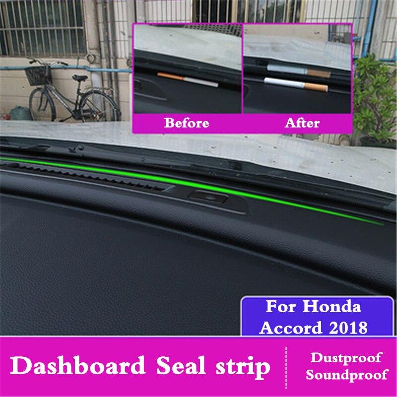 For Honda Accord 10 2018 Car Dashboard Seal Strip Rubber