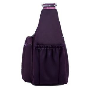 Image 2 - 작은 나일론 숄더 가방 꽃 자 수 여성 메신저 가방 고품질 crossbody 가방 여성 숙 녀 럭셔리 디자이너 핸드백