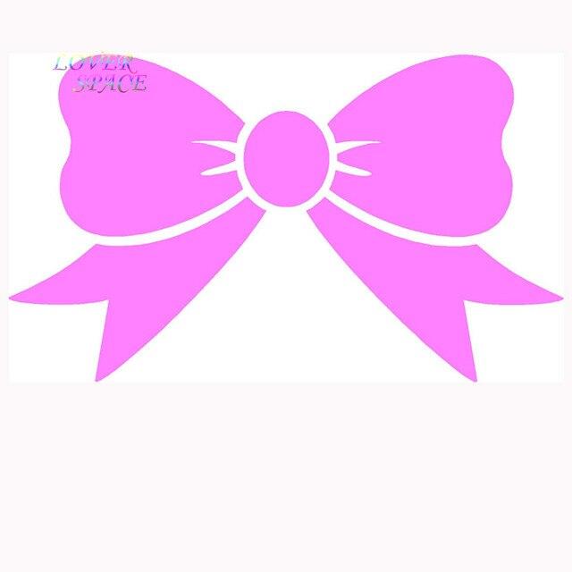 4pcs lot bow tie sticker car truck window vinyl decal laptop cute
