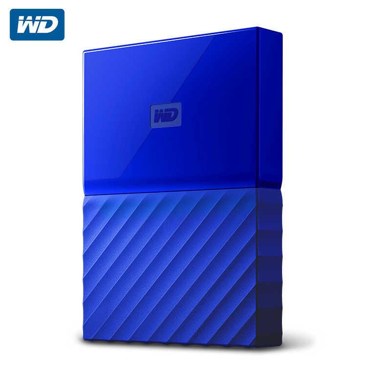 WD My Passport внешний жесткий диск USB 3,0 1 ТБ 1 T 2 T Портативный шифрование жесткого диска HD устройства для хранения SATA 3 для Windows Mac