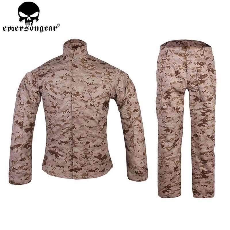 EMERSONGEAR MCCUU Tactique Ensemble Uniforme De Camouflage Vêtements des Forêts Manteau Pantalon Airsoft Chasse Extérieure Costume DD EM6877