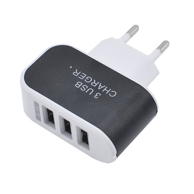 3 Port Travel USB Charger