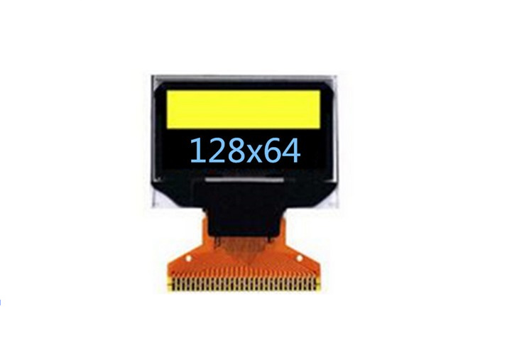 0.96 inch SSD1306 OLED display 128 * 64 dot matrix 30pin yellow and blue color OLED 1 3 inch 128x64 oled display module blue 7 pins spi interface diy oled screen diplay compatible for arduino