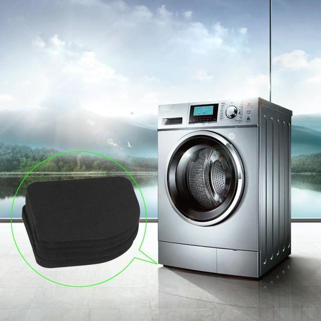 4 pz Anti-Vibrazione Cuscino Bagno di Lavaggio Macchina Antiurto Pad Mute di Cot