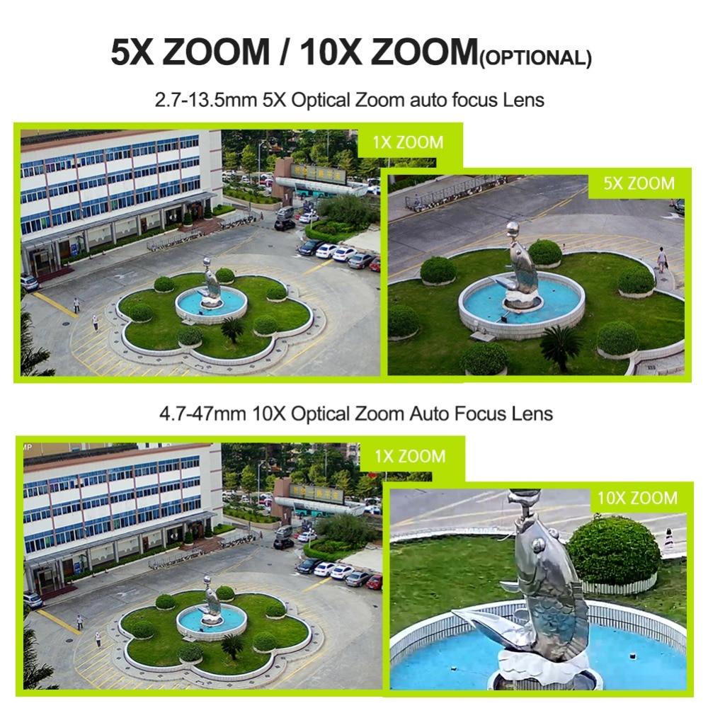 HD 1080 P HD inalámbrico domo PTZ Cámara cámara IP WIFI 5X 10X de Zoom al aire libre de seguridad CCTV cámara de vigilancia de vídeo de Audio IR ONVIF de 60 M - 2