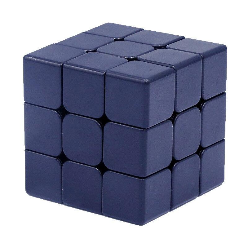 Cubo mágico 3x3x3 Preto Branco Jogos de Puzzle Neo Cubo Magico Brinquedos Educativos para Crianças