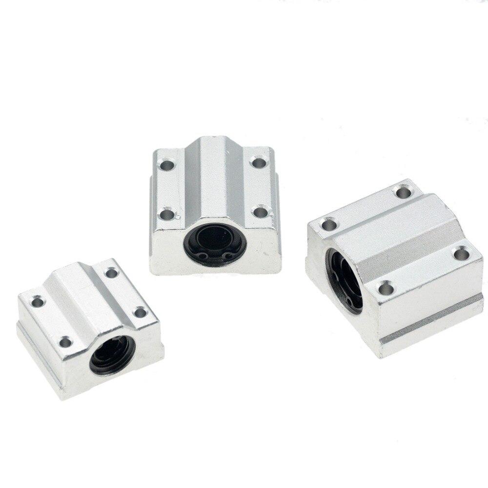 1 шт. SC8UU SCS8LUU 8 мм линейный Шарикоподшипниковый блок CNC маршрутизатор SCS6UU SCS10UU SCS12UU SCS13UU для ЧПУ 3D-принтера валы стержневые детали