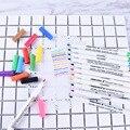 12 шт.  текстильные чернильные ручки для лоскутного шитья  канцелярские принадлежности  тканевые ручки  моющиеся маркеры  маркировочная ручк...