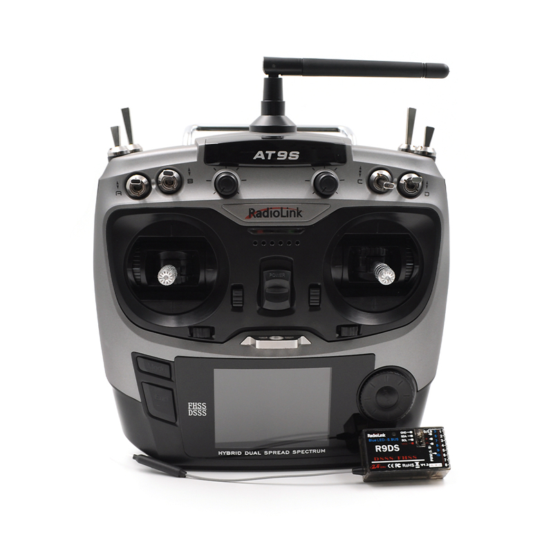Image 2 - Radiolink AT9S 2.4G 9CH System Transmitter with R9DS Receiver AT9 Remote Control update vision for RC quadcopter Helicopter-in Parts & Accessories from Toys & Hobbies