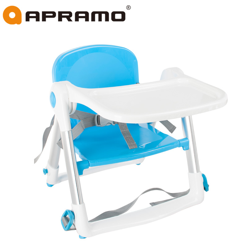 2016 Direct Selling New Arrival En 1-3 Years Old Multifunctional Apramo Child Dining Chair Folding Infant Table Baby Flippa