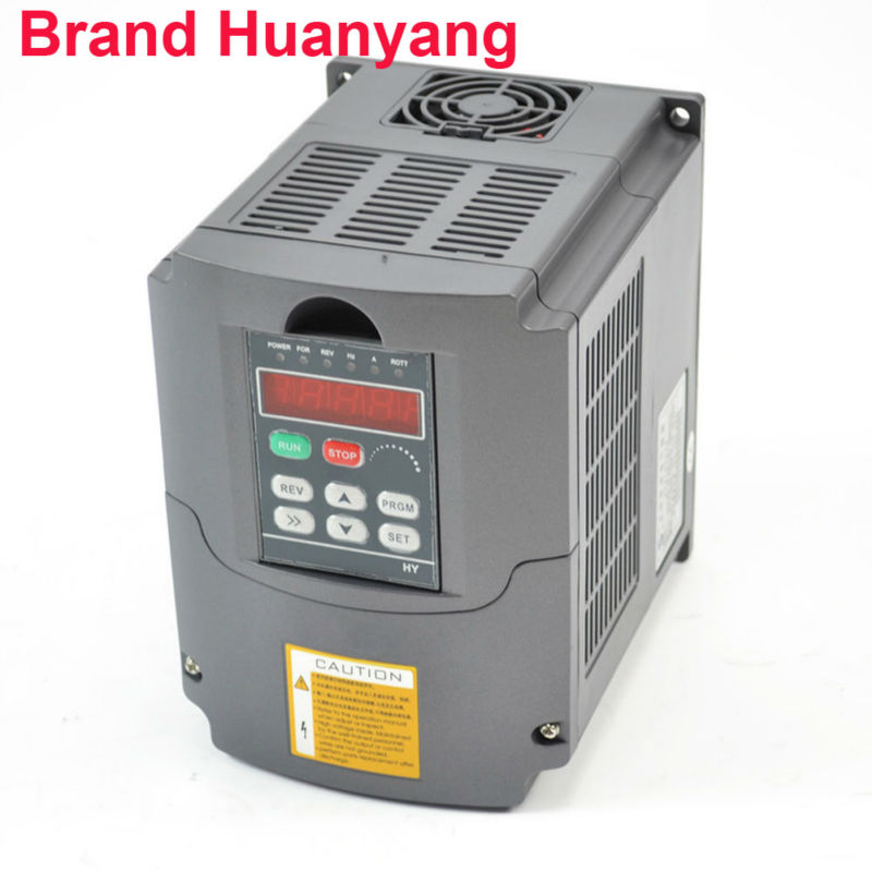 frequency inverter 1.5kw 110v 2HP 7A variable frequency drive inverter HUAN YANG Brand CNC motor speed controller vfd good quality vfd 2 2kw 110v variable frequency inverter motor machine tools dirve inverter