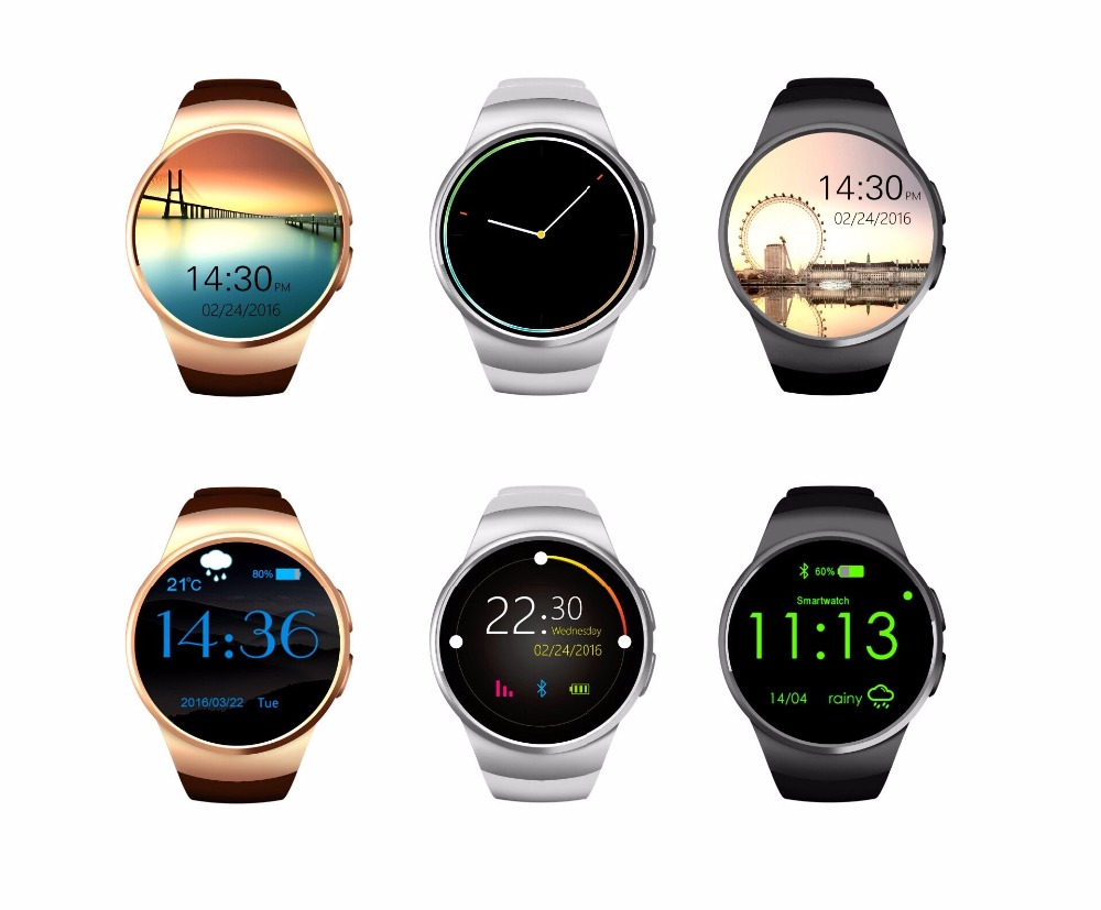 smart watch Hot smart watch mobile phone Bluetooth KW18 new smart Bluetooth card can call can monitor the heart rate wireless service call bell system popular in restaurant ce passed 433 92mhz full equipment watch pager 1 watch 7 call button