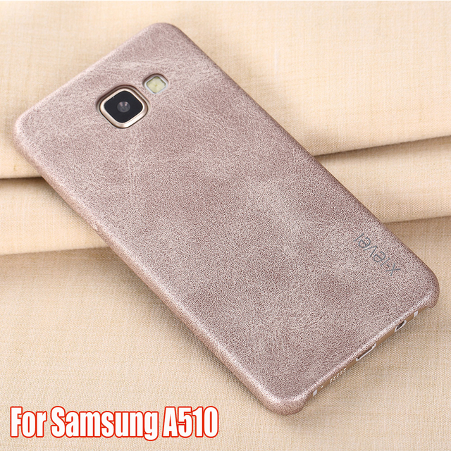 size 40 134d9 40f19 US $9.99 |X Level Luxury Retro PU Leather Case For Samsung Galaxy A5 2016  A510 Back Cover A510F/A510M/A510FD Dual Sim Capa Cases-in Fitted Cases from  ...