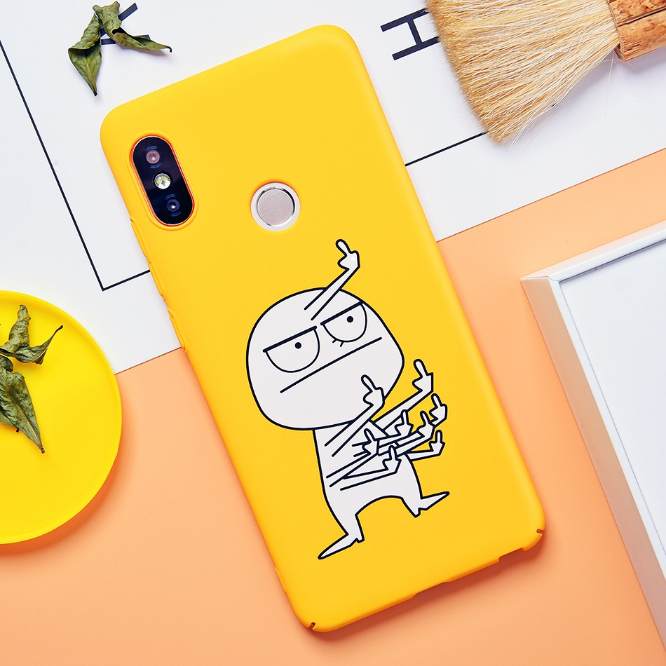 TOMKAS Cute Cartoon Case for Xiaomi Redmi Note 5 Mi A1 Phone Case for Xiaomi Redmi 4X 5 Plus Cases Back Cover Funny Naked Banana (3)