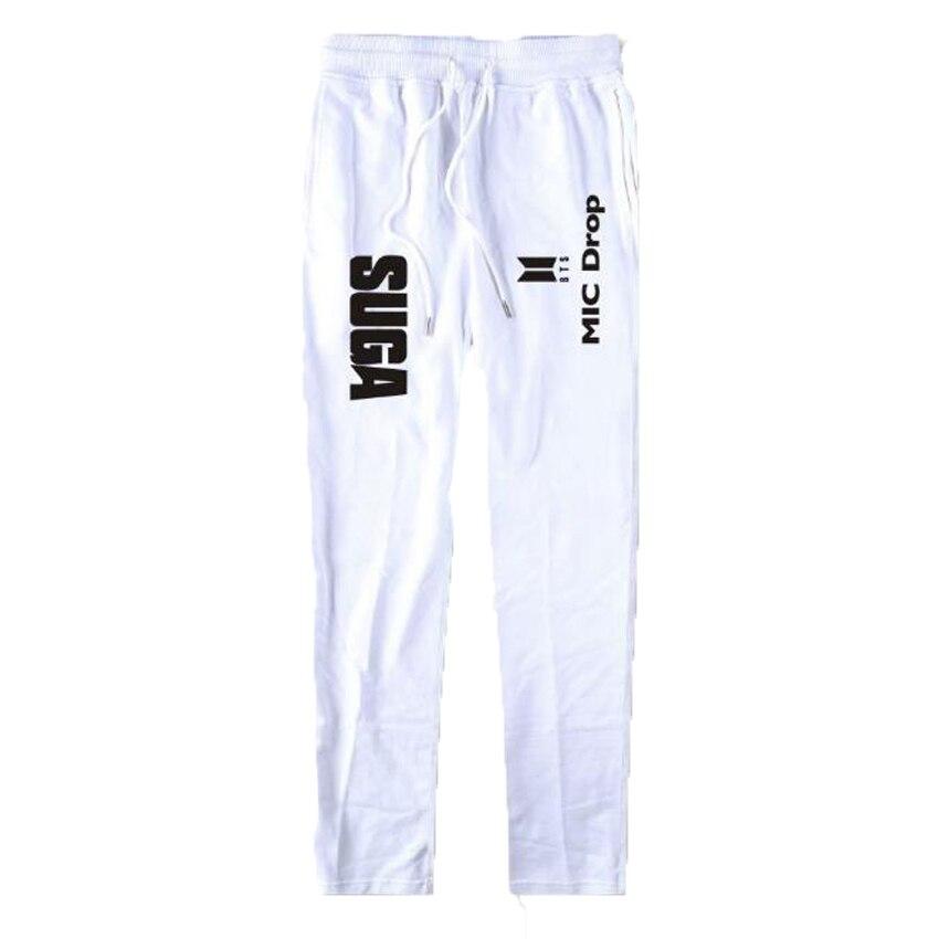 Plus Size Cargo Pants Women BTS Kpop MIC Drop 100% Cotton hiphop Dance Pants Casual Warm Sweatpants Jogger Pants Trousers