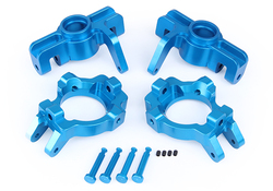 losi 5ive-t CNC alloy front wheel bearing seat kits 87052 for 1/5 scale rc Rovan LT truck parts