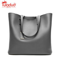 PU Leather Women Shoulder Bags Large Capacity Handbags Soild Ladies Shoulder Bag Luxury Brand Handbags Quality