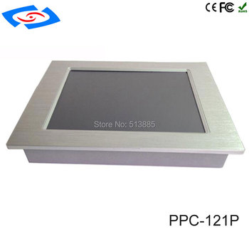 2018 New Version 12.1 inch Embedded Touch Screen All In One Industrial Panel PC With Resolution Application Commercial Tablet PC