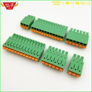 KF2EDGKN 3 5 2P ~ 12P PCB PLUG-IN skynka zaciskowa 15EDGKN 3 5mm 2PIN ~ 12PIN FMC 1 5 2-ST-3 5 #8211 1952267 PHOENIX CONTACT firma DEGSON tanie i dobre opinie NoEnName_Null Rohs CN (pochodzenie) Wtyczka 1-10 KF2EDGKN-3 5 21 - 30 AWG CHINA BRASS TIN PLATING BRASS NICKEL PLATING 300V