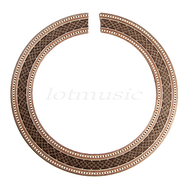 Akustikgitarre PVC Rosette klassische Schallloch Rosette