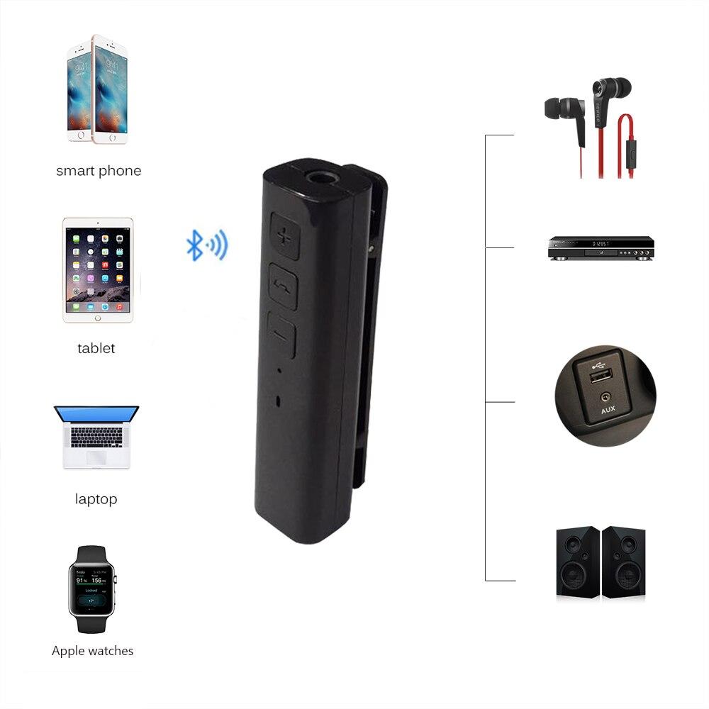 Aliexpress Com Buy Car Bluetooth Aux 3 5mm Jack Bluetooth Receiver Handsfree Call Bluetooth: Aliexpress.com : Buy Tancredy Wireless Car Bluetooth Aux Audio Music Receiver 3.5mm Jack Aux