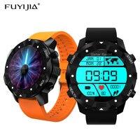 FUYIJIA SIM Card Android Smartwatch Men's Bluetooth WiFi Smart Watch Woman GPS Sports Watches Heart Rate Phone Waterproof Clock