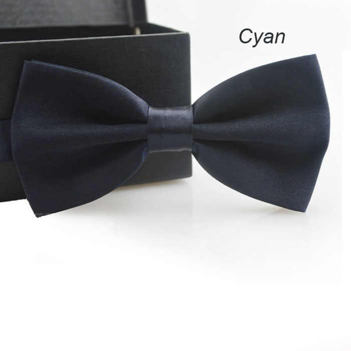 Gratuit autruche classique cravate hommes réglable smoking mariage noeud papillon cravate 14 couleurs le noeud papillon pour hommes 2019 gravatas cravates nouveau