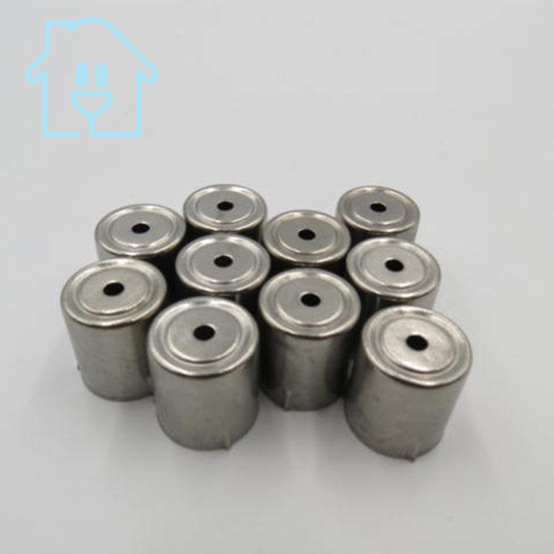 (10 Pro/lot) Stahlkappe Ersatz Mikrowelle Loch Magnetron 10 Stücke Silber Ton 38% Off New Unused Auf Dem Internationalen Markt Hohes Ansehen GenießEn