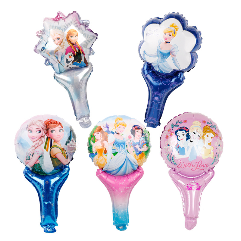 1 Pc 18 Inch Prinses Thema Ballonnen Kids Party Decoratie Ballonnen Helium Ballon Verjaardagsfeestje Decor Supplies Matige Prijs